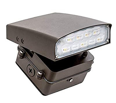 Westgate Lighting LED Adjustable Cutoff Wall Pack Outdoor Series – High Lumen – Waterproof IP54 – UL Listed DLC Approved – 120-277V – 7 Year Warranty