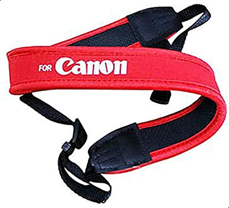 CAMERA SHOULDER NEOPRENE NECK STRAP for Canon DSLR EOS 550D 1000D 500D 400D 5D 10D 60D