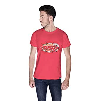 Cero Crush Retro T-Shirt For Men - S, Pink