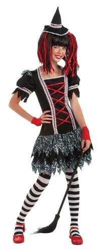 Rubie's Drama Queens Tween Goth Lolita Witch Costume - Tween Small (0-2)