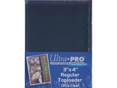 Ultra Pro 100 Topload Card Holders with 100 Ct Bag of Sleeves
