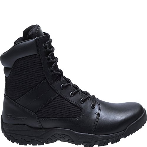 Bates Men's Seige 8 Hot Weather Side Zip Military and Tactical Boot, Black, 11.0 M US