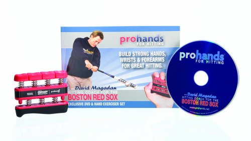 Cheap Prohands For Hitting Gripmaster Hand Exerciser with 21-Minute DVD Featuring David Magadan (Medium Tension, 7-Pounds per Finger)