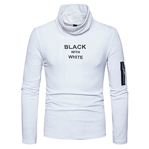 Jacket Urban Traveler (Simayixx Warm Blouses for Winter, Men's Slim Cotton Blend Turtleneck Neck Basic Zipper Sweatshirt Outwear Sweats)