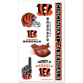 Cincinnati Bengals NFL Temporary Tattoos (10 - Outlet Malls Cincinnati