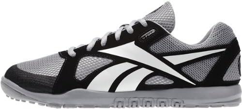 Reebok Crossfit Nano U-Form EUR 37,5 UK 4,5 Grau Schwarz Wei/ß Damen Sneaker