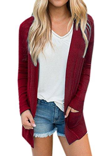 Lightweight Cotton Cardigan Sweater - 5