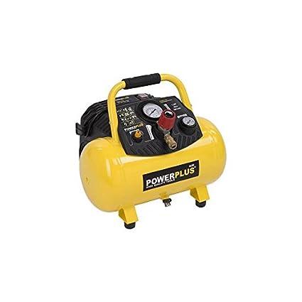 PowerPlus POWX1723 Compresor 1100W 12L Sin Aceite