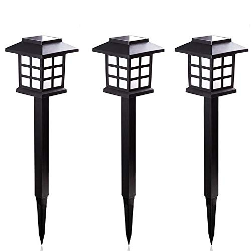 (LED Solar Pathway Lights Outdoor Waterproof Solar Lights For Decoration Garden Landscape Path Yard Patio Driveway Walkway Retro Underground Light (3 Pack) Solar Outdoor Light ( Color : Warm white ))
