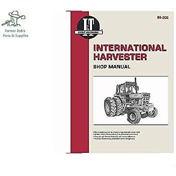 i&t shop manuals international harvester shop manual, 544, 656, hydo 70 &  more farmer bob's parts ih202