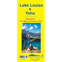 Lake Louise & Yoho Waterproof Trail Map and Guide