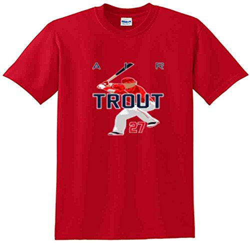 (The Silo RED Mike Trout Anaheim
