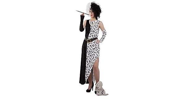 DISBACANAL Disfraz Cruella De Vil - -, M: Amazon.es: Juguetes y juegos