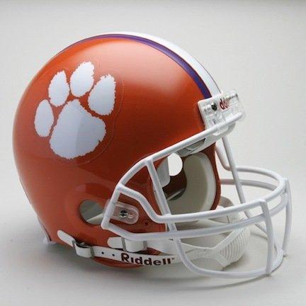 Riddell Clemson Tigers Authentic Pro Line Helmet - Clemson Tigers One Size
