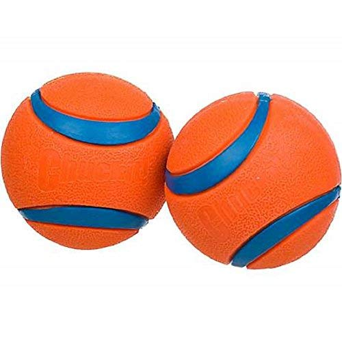 - Canine Hardware Chuckit! Ultra Ball, Large, 3-Inch, 2-Pack
