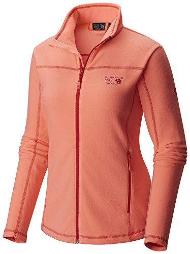 Mountain Hardwear Women's Microchill Jacket, Coralescent, XS - Mountain Hardwear Womens Fleece