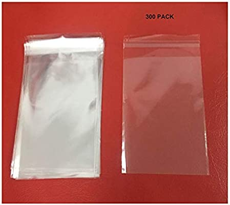 Amazon.com: Clear Resealable Cello Bags Cellophane Bags ...