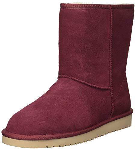 Koolaburra by UGG Women's W Koola Short Fashion Boot, Zinfandel, 09 Medium US (Australia Ugg Boots)