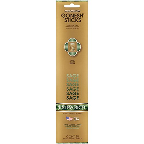 Gonesh Incense Sticks Extra Rich Collection Sage, 20 - Online To That Stores Canada Ship