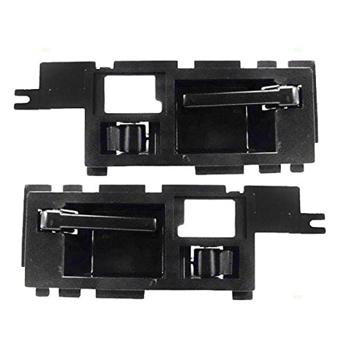 Driver and Passenger Front Inside Inner Door Handles Replacement for 86-90 Chevrolet S10 Pickup S10 Blazer GMC S15 Pickup S15 Jimmy 15590989 15590990