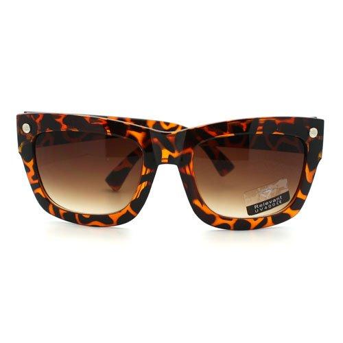 best oversized wayfarer clear lens glasses unisex thick square eyeglasses frame
