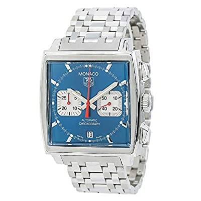 Tag Heuer Monaco Automatic-self-Wind Male Watch CW2113-0 (Certified Pre-Owned) from Tag Heuer