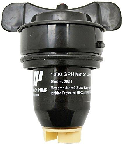 Johnson Cartridge Bilge Pump - Johnson Pump of America 28512 Marine Pump Cartridge for 1000 GPH Motor