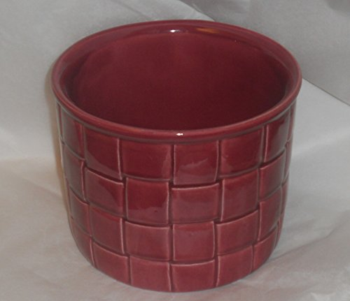 Haeger USA Woven Basket Motif Ceramic Pottery Planter for sale  Delivered anywhere in USA