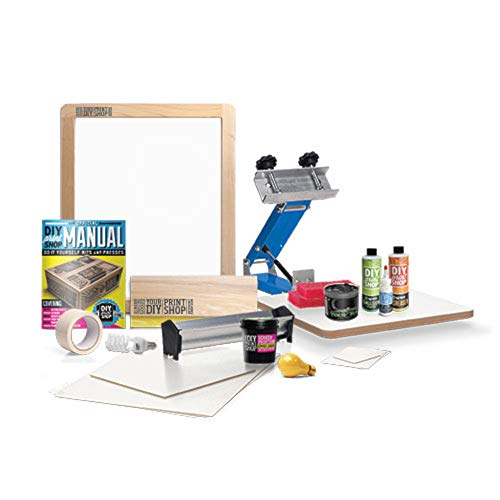 DIY Print Shop Original TShirt Screen Printing Kit