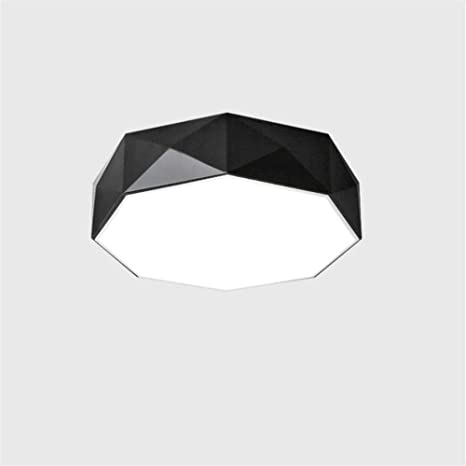 Sale Da Pranzo Usate.Lampada Plafoniere Nero Lampada Da Camera Semplice Moderna