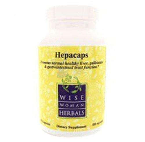 Wise Woman Herbals – Hepacaps 550 mg. – 90 Capsules