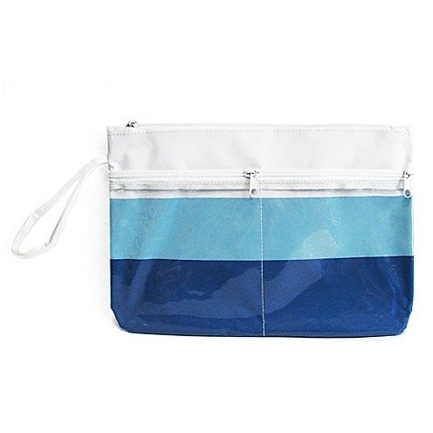 Morgan Home Summer Stripe Water-Resistant Swimsuit Sack in Blue by Morgan Home (Image #1)