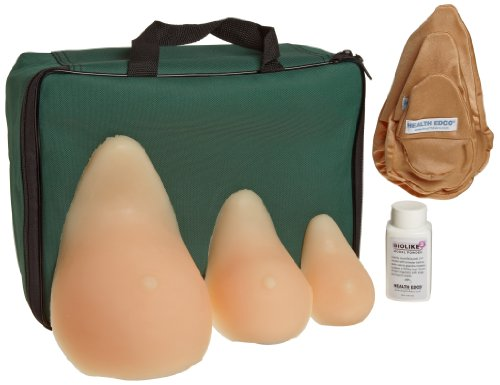 HEALTH EDCO W43005 3 Piece Breast Self Examination Model Set ()
