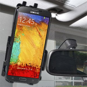 Amzer Anywhere Magnetic Vehicle Car Mount Holder for Samsung Galaxy Note 3 N9000 (Fits All Carriers) - Retail Packaging - Black