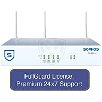 Sophos SG 105w UTM Wireless Appliance TotalProtect Bundle with 4 GE ports, FullGuard License, Premium 24x7 Support - 3 Years