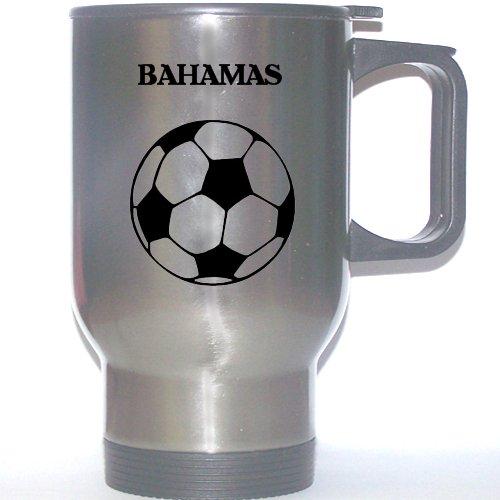 Soccer Stainless Steel Mug - Bahamas