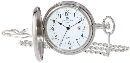 Charles-Hubert, Paris Two-Tone Quartz Pocket -