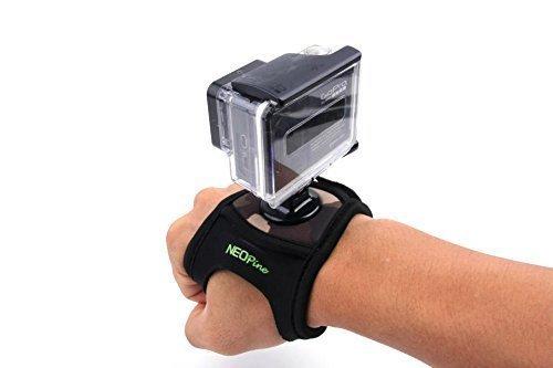 Mondpalast @Glove style Elastic Fahrrad Velcro Wrist Strap Band Hand Arm Mount Halterung für Gopro Hero 1 2 3 3 + Sport Kamera