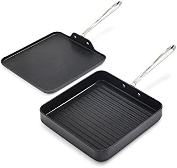 Set of 2 All-Clad HA1 Grill and Griddle