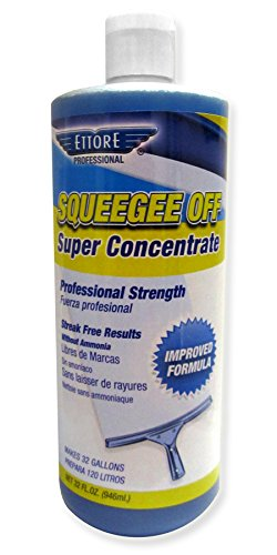 Ettore 30130 Squeegee Off Window Cleaning Soap, - Window Cleaning Formula