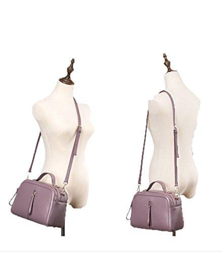 Sac Sacs Cuir En Mode Sac Carré sac À Nouvelle Diagonale Petit Sac 2018 ZM Femmes Purple Cuir Sauvage En Portable Main Épaule 8nHIxBFq