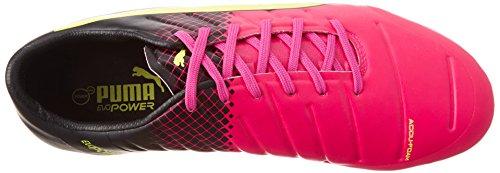Bota de fútbol Puma evoPower 2.3 AG Tricks Pink glo-Safety yellow-Black Pink glo-Safety yellow-Black