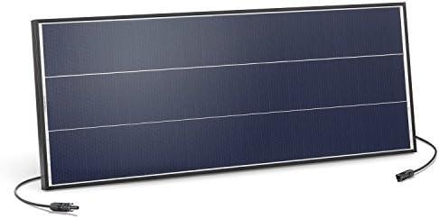 Solarmodul 75 Watt monokristallin 18V mit MC4 Steckverbindungen und neuartiger Schindeltechnik für mehr Leistung, 1031 x 405 x 35 mm Solarpanel esotec 131050