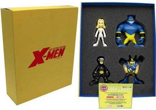 Marvel - Juego de Figuras en Caja de edición Limitada para X-Men (Tipo Q): Amazon.es: Hogar