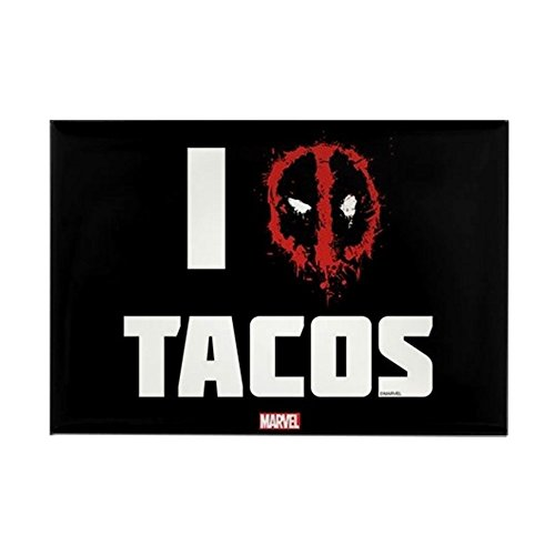 CafePress Deadpool Tacos Rectangle Magnet, 2