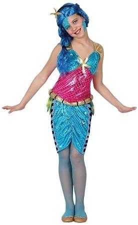 Atosa - Disfraz de hawaiana para niña, talla 10-12 años ...