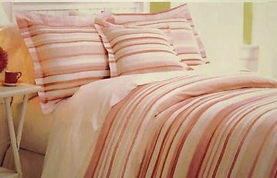 Liz Claiborne Salerno Peach Twin Duvet Set With Sham