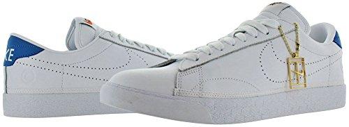 Nike Air Zoom Tennis Mens Chaussures De Tennis Chaussures Blanc / Blanc-lumière Photo Bleu