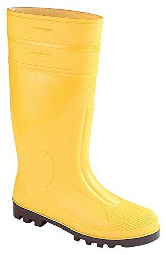 Bausicherheitsstiefel S5 Gr.39 gelb Stahlk./Stahlsohle H.38cm