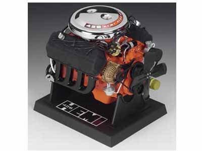 Dodge Hemi 426 Engine 1/6